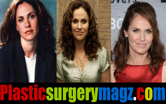 Amy Brenneman Before and After