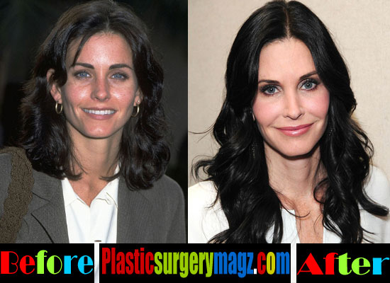 Courteney Cox Then and Now