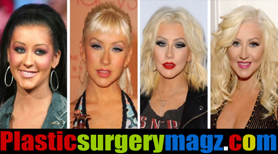 Christina Aguilera Before And After Pictures
