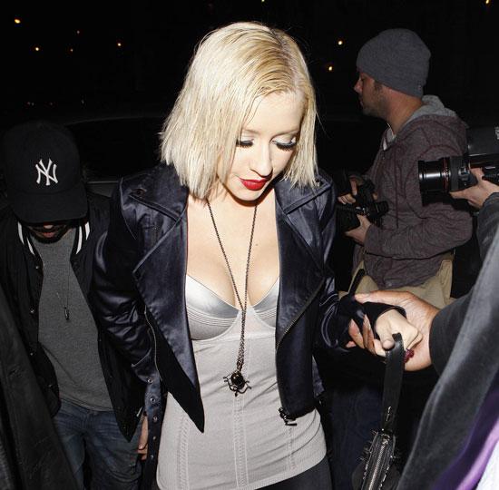 Christina Aguilera Breast Implants