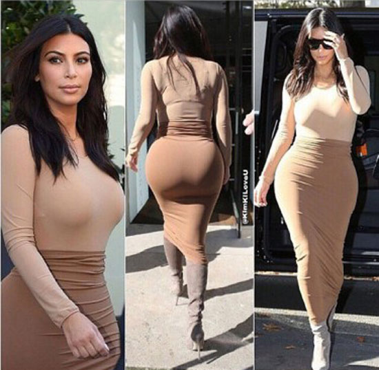 Kim Kardashian Has Butt Implants 5