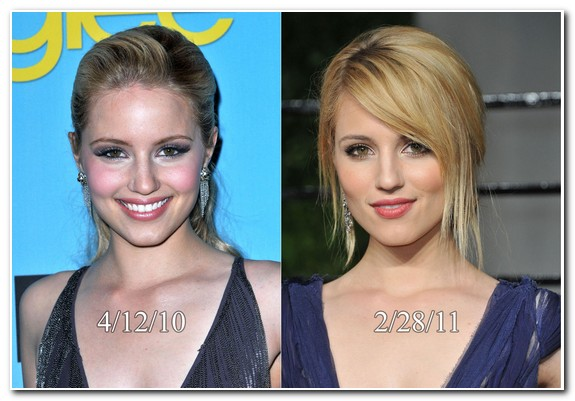 Dianna Agron Nose Job Before and After