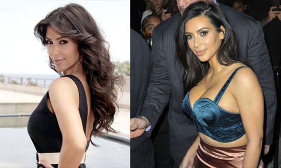 Kim Kardashian Boob Job Before And After