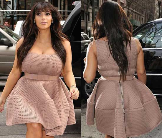 Kim Kardashian Breast Size