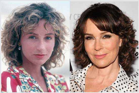 Jennifer Grey Nose Job Before After Photos