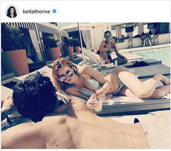 Job boob bella thorne Gwyneth Paltrow