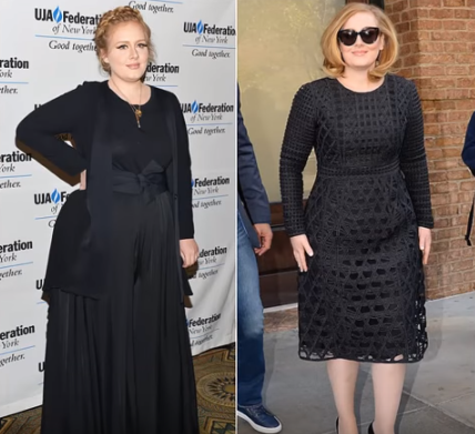 Adele Liposuction Now and Then