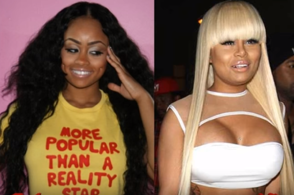 Blac Chyna Before and After Breast Implants